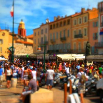 SAINT TROPEZ TILT SHIFT & TIME LAPSE